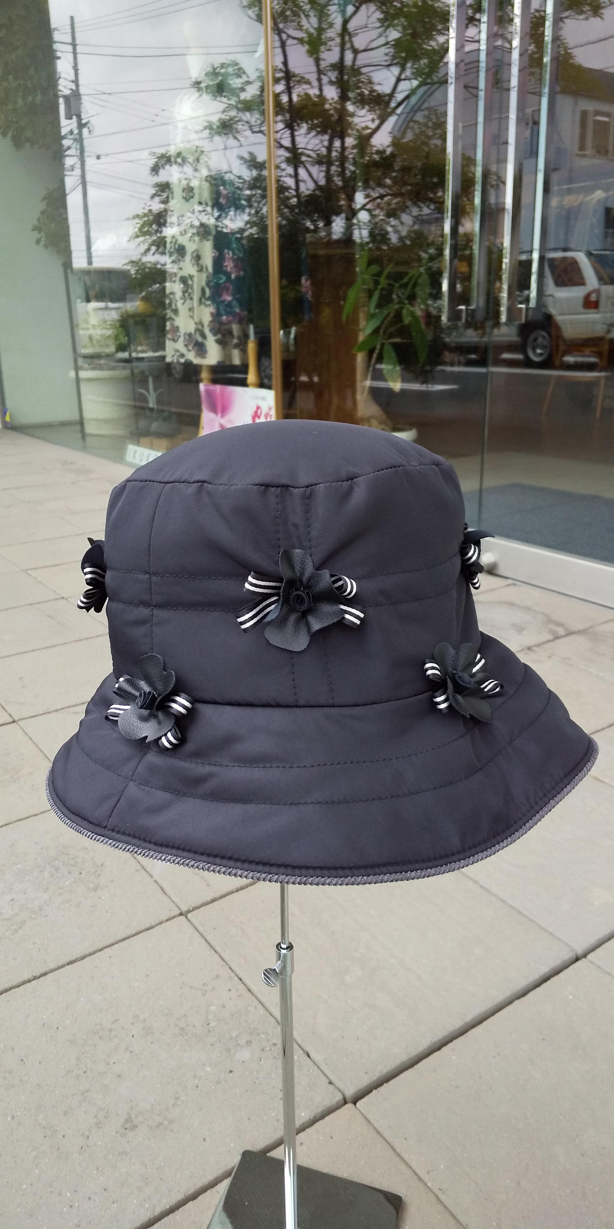 キルト帽子